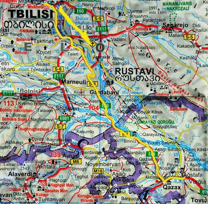 Tag 176: Tiflis - Agstafa