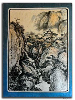 CN0179.Wandbild.Konfuzius Tempel.Wuwei