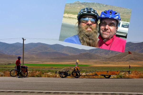 IR: Solatrike trifft iranischer Velofahrer