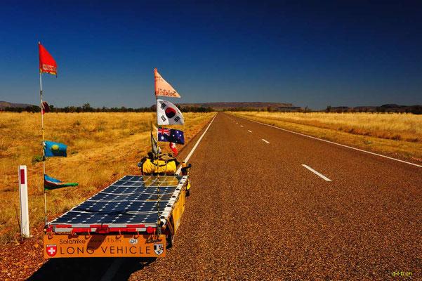 AU: Solatrike bei Pinkerton Range