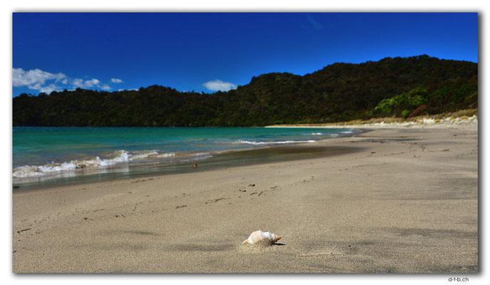 NZ0865.Stewart Island.Rakiura Track.Maori Beach