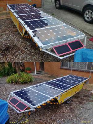 AU: Solatrike mit neuen Solarmodulen