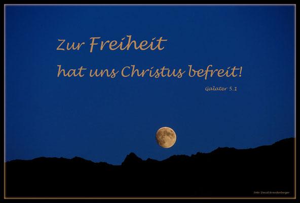 S0160.Mond über Gitzihorn.Klosters.CH. Galater 5.1