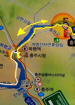 Tag 274: Chungju - Damm - Chungju