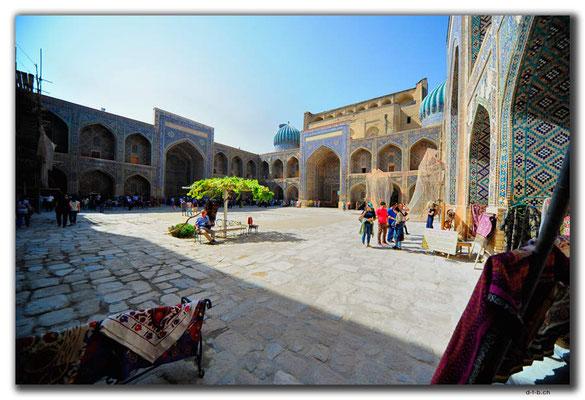UZ0033.Samarkand.Registan.Sher Dor Medressa