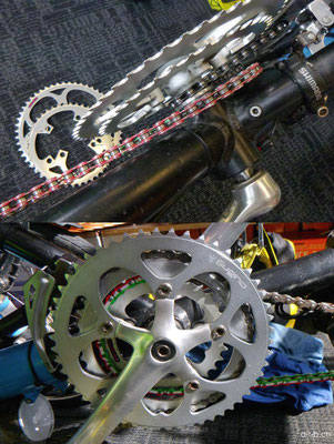 NZ: Auckland.Solatrike Reparatur.Neue Ritzel