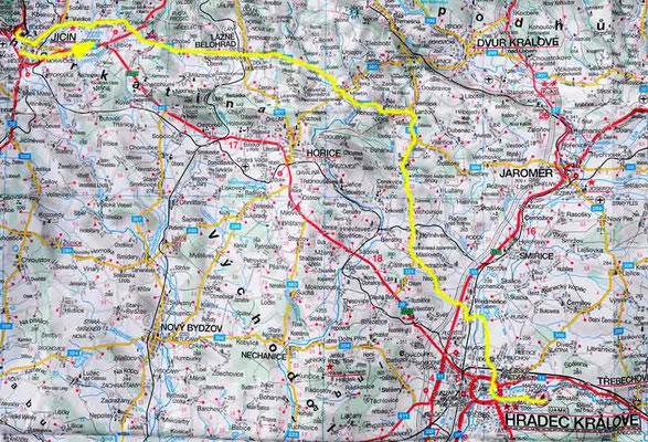 Tag 45: Jicin - Hradec Kralove