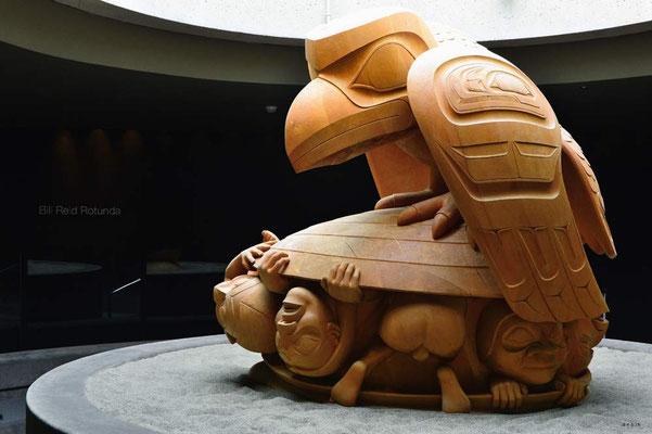 CA0034 Vancouver Raven von Bill Reid