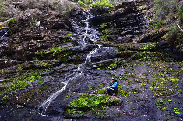 Australien.Tasmanien.Victoria Falls
