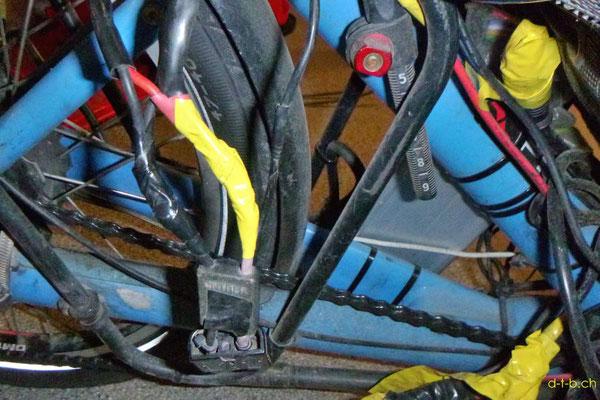 NZ: Solatrike Kabelverbindungen gelötet