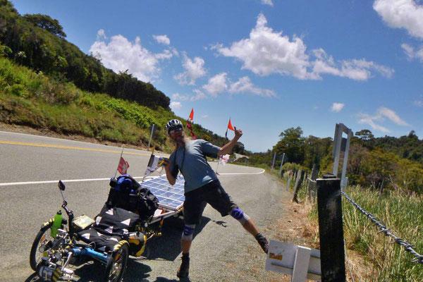 NZ: Solatrike auf Takaka Hill