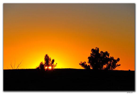 AU0339.Cane River.Doppelter Sonnenuntergang