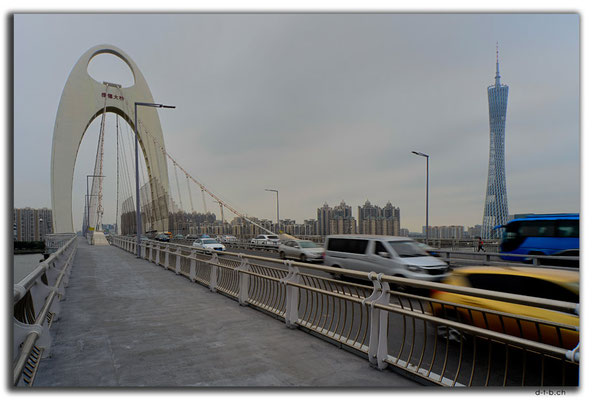 CN0451.Guangzhou.Liede Bridge & Canton Tower