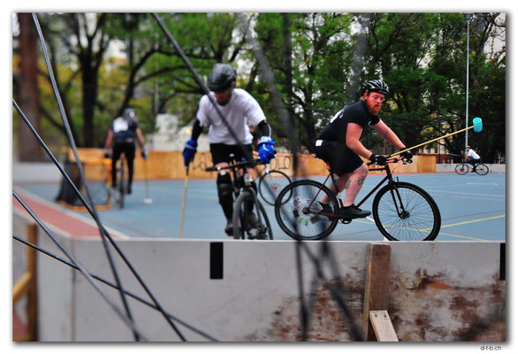 AU1456.Melbourne.Bike Polo