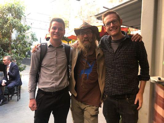 AU:Melbourne. With Team Solartuk (Photo: Julien)