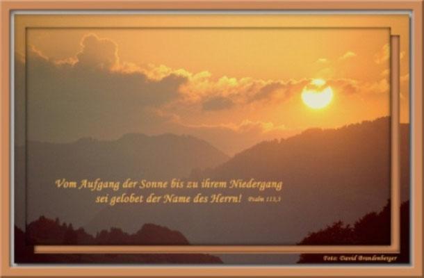 S0042 Sonnenuntergang,Klosters,CH