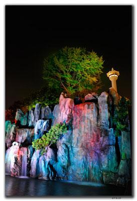 KR0182.Busan.Tower.Wasserspiel