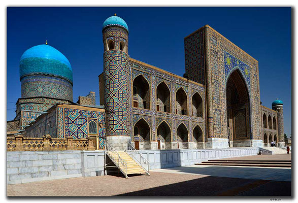 UZ0058.Samarkand.Registan.Tilla-Kari Medressa