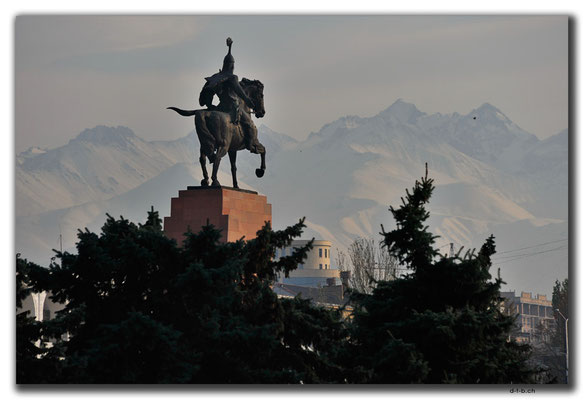 KG0007.Bishkek.Manas Denkmal