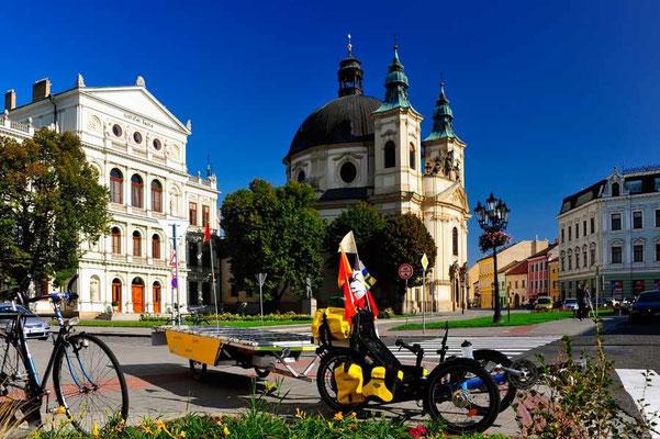 CZ: Solatrike in Kromeriz.Johanneskirche