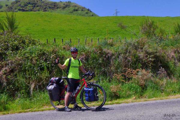 NZ: Fernradler Victor aus Frankreich