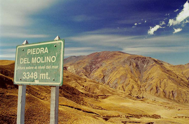 Argentina.Piedra del Molino 3348m