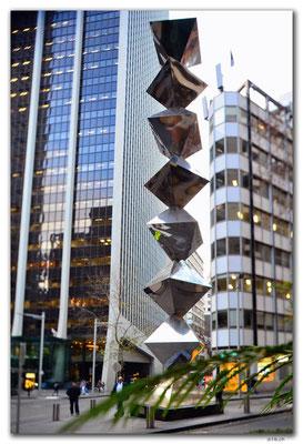 AU1687.Sydney.Dobell Memorial Sculpture.H.Flugelman