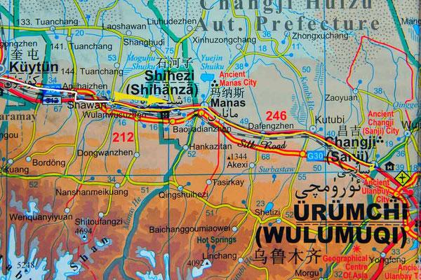 Tag 226: Shawan - Changji