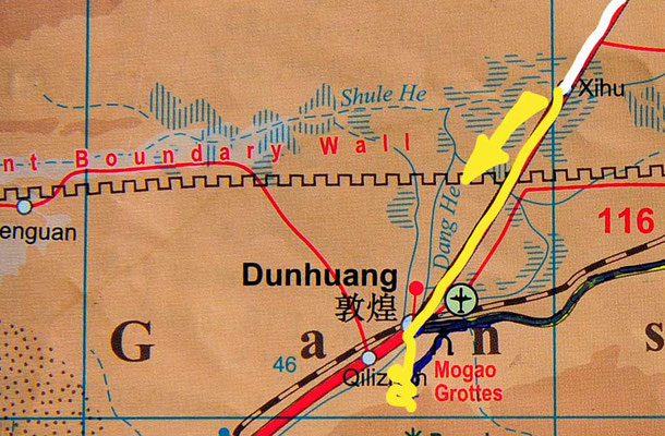 Tag 236: Xihu - Dunhuang