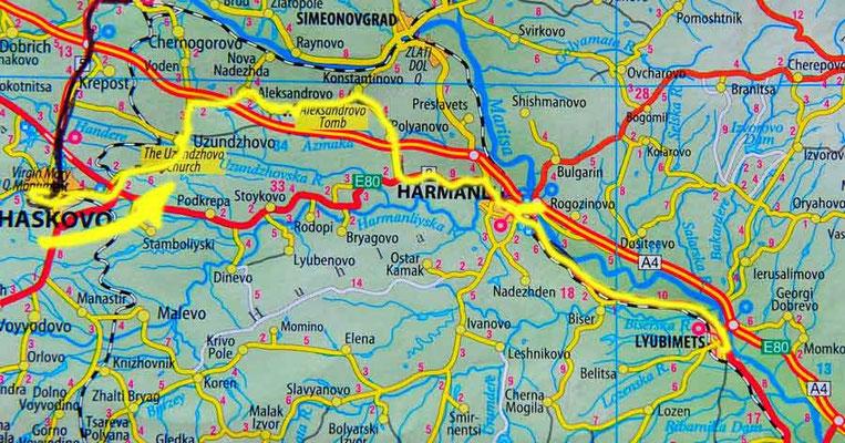 Tag 82: Hashkovo - Lyubimets