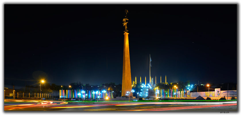 KZ0024.Shymkent.Independence Monument