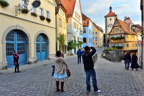 Deutschland.Rothenburg ob der Tauber8