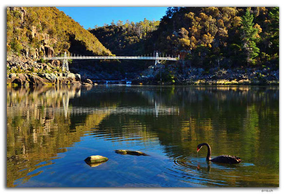 AU1274.Launceston.Cataract Gorge.First Basin