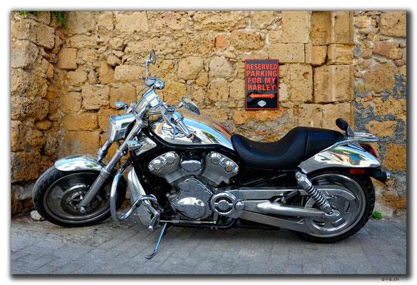 Nordzypern.Girne.Harley Davidson