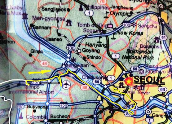 Tag 271: Incheon Geomam 검암역 -  Seoul 서울특별시
