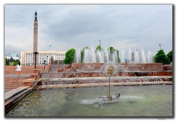 KZ0113.Almaty.Springbrunnen