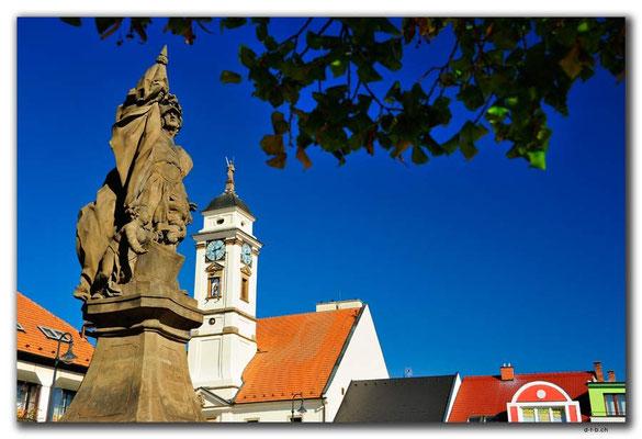CZ159.Uherský Brod.Statue