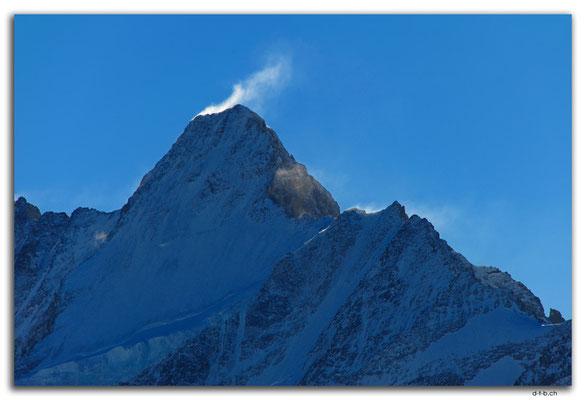 GW0028.Schneefahne am Schreckhorn