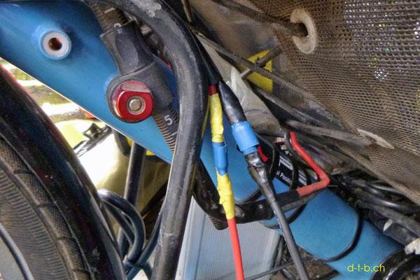 NZ: Solatrike neue Kabelverbindungen zum Vordermotor