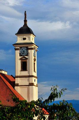CZ010.Uhersky Brod Kirchturm