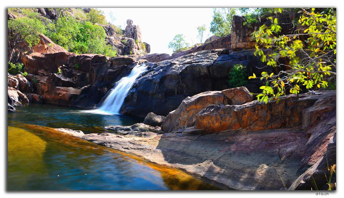 AU0046.Kakadu N.P.Gunlom Waterfall