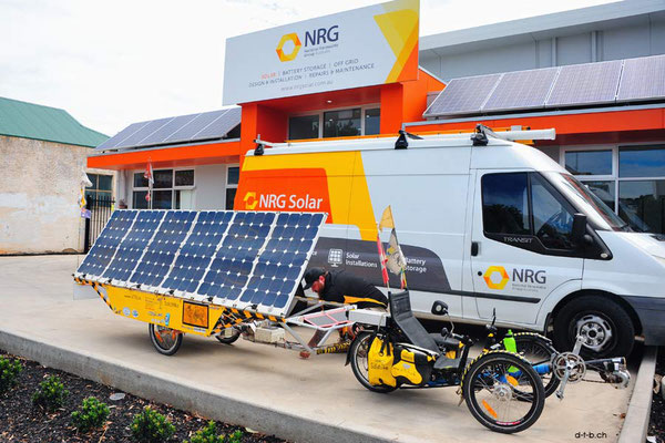 AU: Solatrike at NRG Solar in Adelaide