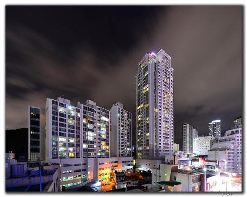 KR0199.Busan.Haeundae.Hochhäuser