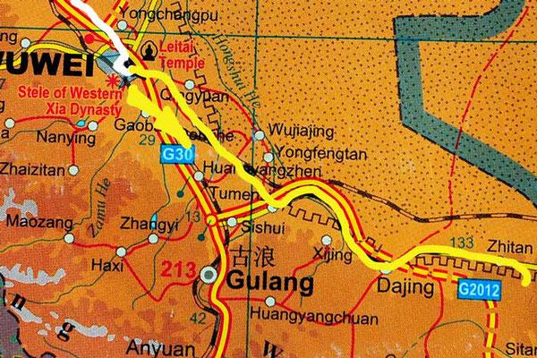 Tag 245: Wuwei - Daling