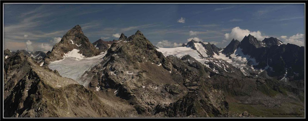 A0287.Gross Seehorn und Silvrettagletscher.Klosters.CH
