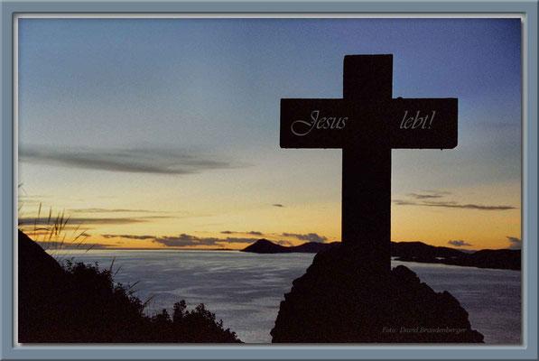 30.-Jesus lebt!-Copacabana,Bolivien