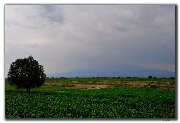 AM058.Zugfahrt.Ararat in den Wolken