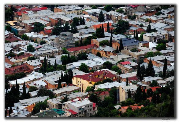 GE167.Tbilisi.Häusermeer