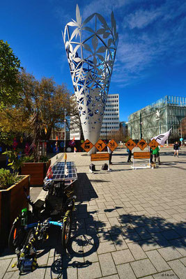 NZ: Solatrike bei Chalice in Christchurch