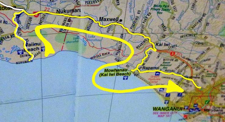 Tag 486: Waiinu Beach - Whanganui